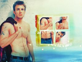 Chris Evans - Stuck in time by ella-marie