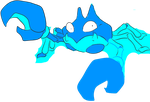 Blue krabby by QueenBrittStalin