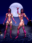 Mileena Primary - Mortal Kombat 9 by romero1718