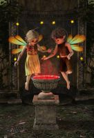 Nosey little Elves by LillithI