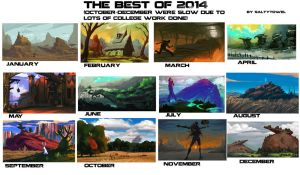 The best of 2014 by saltytowel