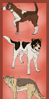 Mutts adoptables 1 - CLOSED by ForeignFrontierRanch