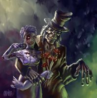 Ghoulish Love - Grimbro Collab by Hex36