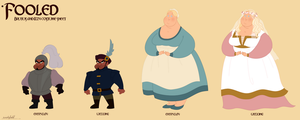 Brutus and Izzy costume sheet by Wickfield