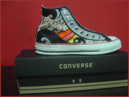 Converse Shoe Design by mujiri