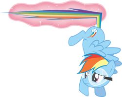 Rainbow Dash! STOP! by krazy3