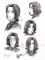 Snape Study 2: Expression by halfbloodgirl9