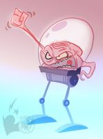 FNM09-Krang by AndrewDickman