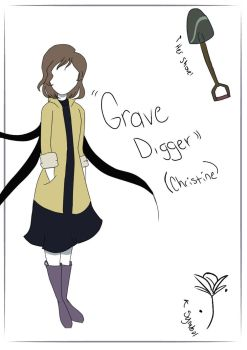 Slender OC: Grave Digger  by Jay-the-Ripper
