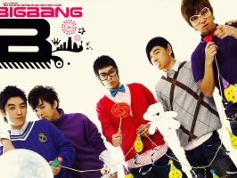 Big Bang - B to the I to the G by crying-ophelia