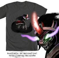 Sombras Wrath_Tee by Tsitra360
