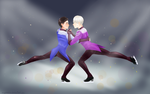 Everything on the ice by AngelBellator