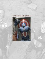 Captain America by brucybanner