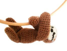Sloth Amigurumi Crochet Pattern by MysteriousCats