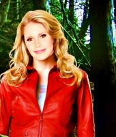Claire Holt - Rebekah - Red Coat by queenoaty96