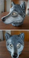Latex wolf mask by zarathus