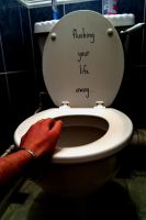Flushing away your life... by Gemz2589
