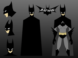 + BatMan Cartoon Design + by Yore-Donatsu