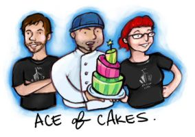 Ace of Cakes by spandexcrusader