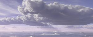 Storm Front DualMonitor by l15ard