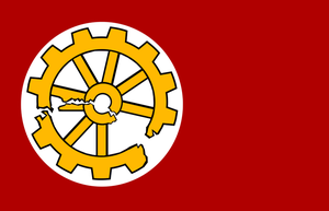 Anti Tractionist Flag by Party9999999