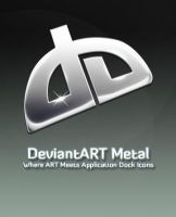 DA Metal Logo by michaelmknight