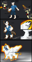 Comission: Mega Absol TF by Wolfeenix