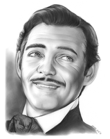 Clark Gable by gregchapin