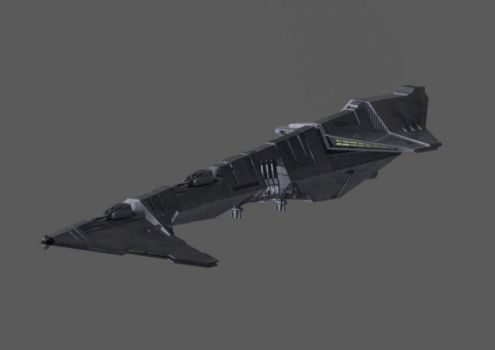 Imperial Escort Carrier HD by THECZW