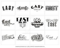 east logotype pack by ihsanpunkrock
