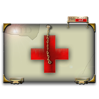 Steampunk Red Cross Help Folder Icon MkII by yereverluvinuncleber