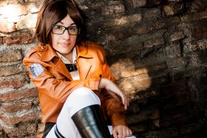 Hanji Zoe Cosplay by Giacchan