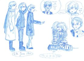 aph: D-Day sketch by LoveEmerald