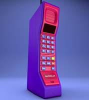 Brick Cell Phone by saifirenet