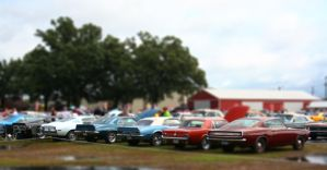 Mini Muscle Cars by bluefishrun