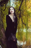 Morticia Addams by tajfu