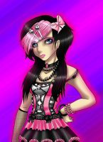 Scene Girl Pink Recolour by Shadow-chan93