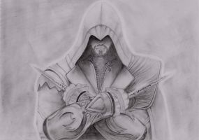 Ezio Auditore by yuri123454321