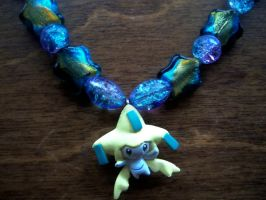 Jirachi Necklace Close Up by bakura-sama18