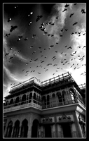 The Jaipur City Palace by johanishere