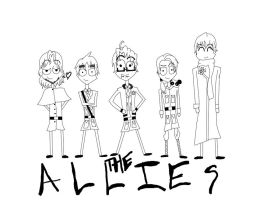APH: The Allies: my new style by jinxometer