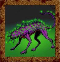 Cat from Yuggoth by Grumbleputty