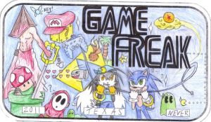 GAME FREAK by Vaheedria