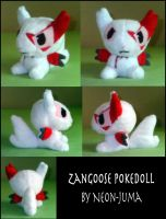 Zangoose pokedoll by Neon-Juma