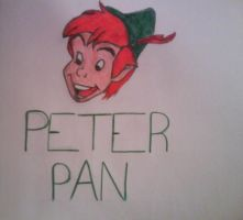 Peter Pan Drawing by Rijogepa