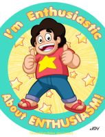 Enthusiastic Steven by TexasUberAlles