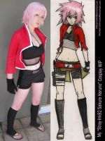 Stray-Ink92 Sakura Cosplay by broken-with-roses