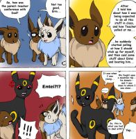 The Eevees 11 Story Time by NoaQep