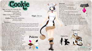 .: Reference Sheet Cookie 2015 :. by Meshion