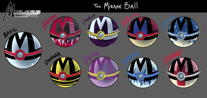 6XL - Mirage Ball Examples by FoxxBrush